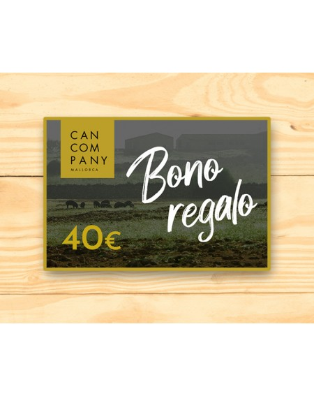 Bono regalo 40€