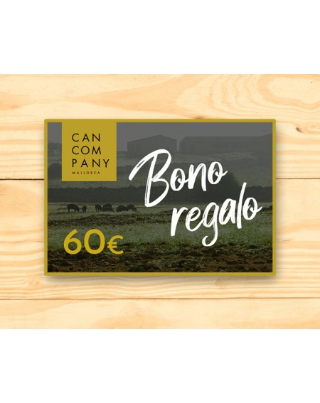 Gift card 60€